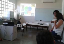 Apresentação do projeto PETRA no curso de Engenharia Florestal da UFMT campus Sinop