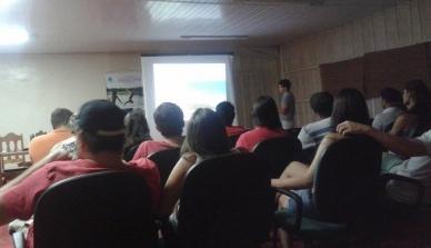 Visita científica dos estudantes da UNEMAT na Fazenda São Nicolau
