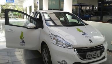 Poço de Carbono Florestal da Peugeot-ONF, que realiza pesquisas científicas e ambientais em Cotriguaçu, recebe veículo de montadora