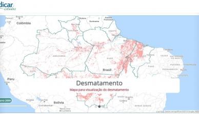 IPAM lança plataforma para auxiliar Estados amazônicos no combate ao desmatamento