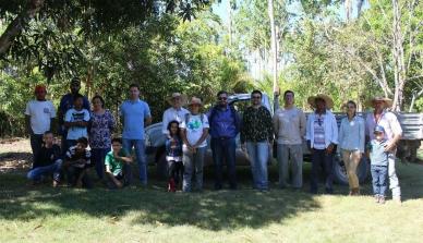 A ONF Brasil participou do mutirão do Projeto Reflorestamento Afirmativo em área de reserva ambiental do rio Juruena
