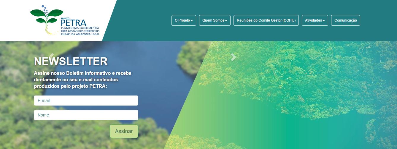Site do projeto PETRA