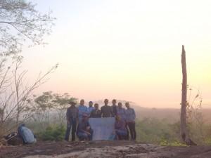 Projeto Poço de Carbono Florestal Peugeot-ONF mede quantidade de carbono estocado nas árvores de reflorestamento da Fazenda São Nicolau 2