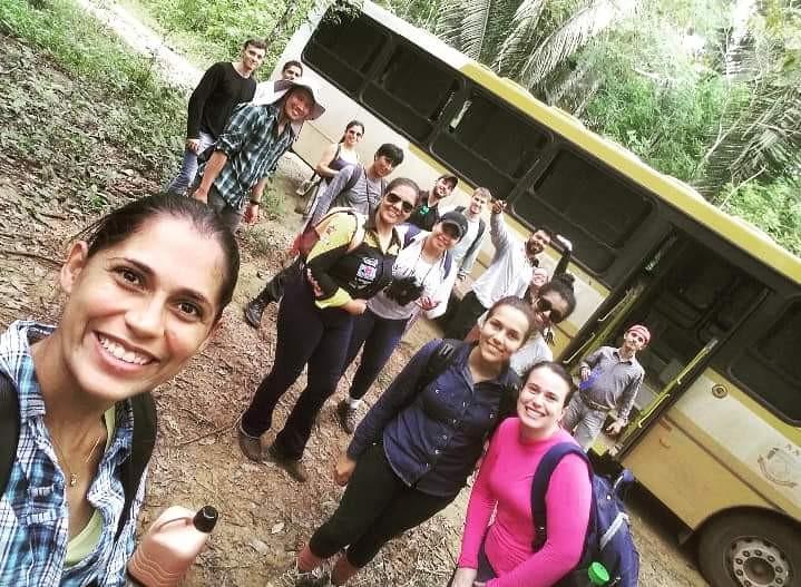 Estudantes de Engenharia Florestal da Unemat viajam para a São Nicolau (foto: Unemat)